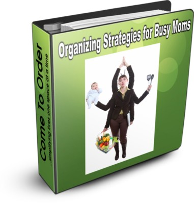 Ebook Organizing Strategies for Busy Moms